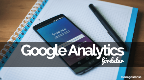 Google Analytics - fördelar