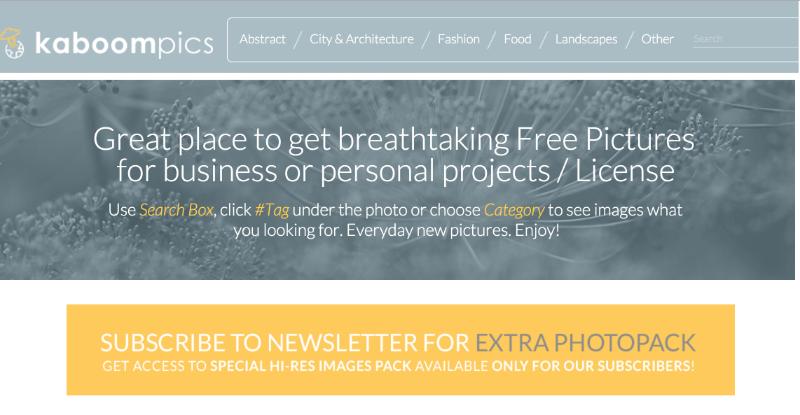 de 10 bästa sajterna med gratis bilder!