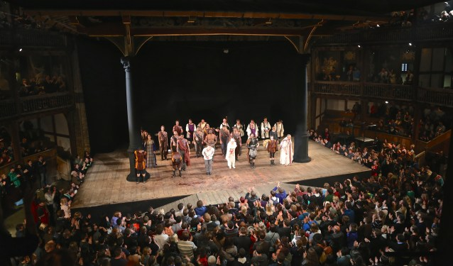 Day 145:3 Curtain Call at the Globe