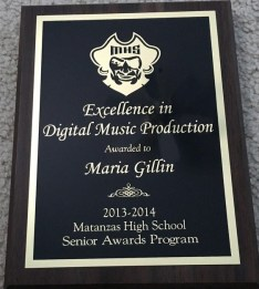 Excellence in Digital Music Production Award