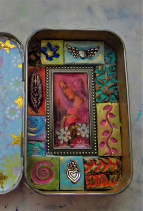 making the mosaic vignette