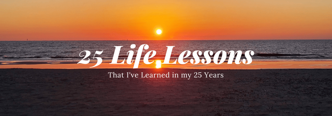 25 life lessons