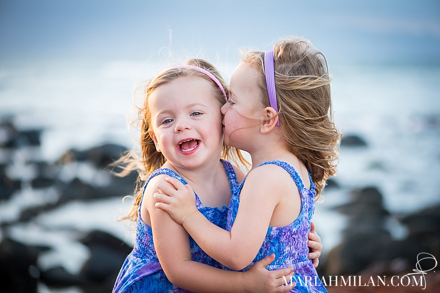Adorable Twins on Maui's North Shore