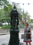 The Wallace Fountains of Paris