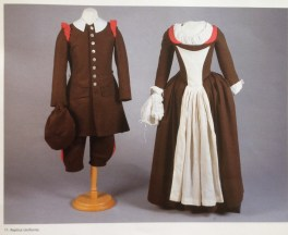 School uniforms from the Foundling Museum