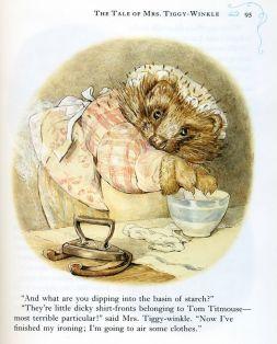 Beatrix Potter and Mrs Tickle-Winkle