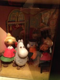 Tove Jansson's Mumin figures
