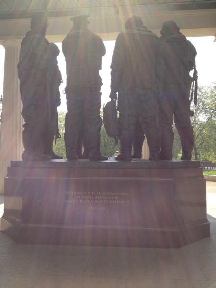Bomber Command Memorial Green Park in London