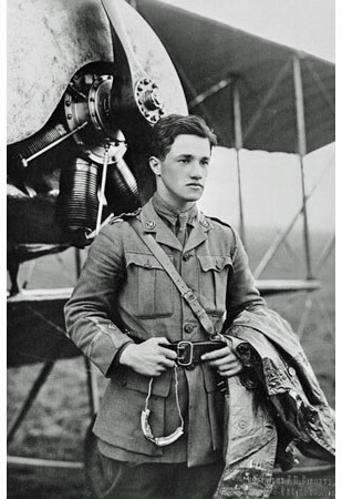 Albert Ball, Recipient of the Victoria Cross. Died 1917 in an air fight
