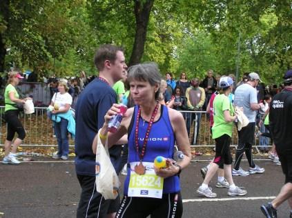 After the Royal Park Foundation Half Marathon
