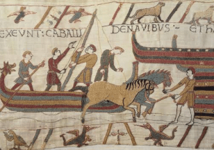 Postcard from The Bayeux Tapestry