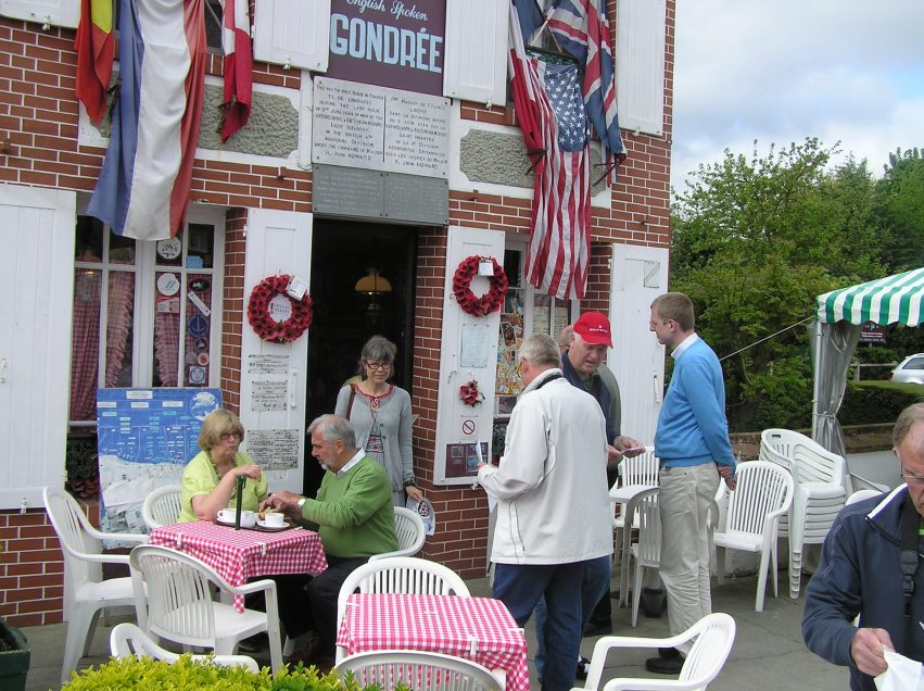 The Café and book shop