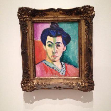 Matisse's The Green Stripe The State's Museum of Art in Copenhagen
