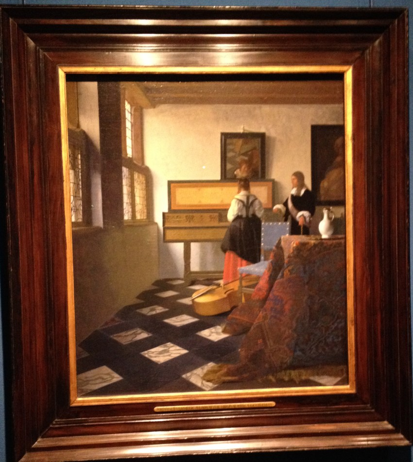Vermeer's painting belonging to the Queen