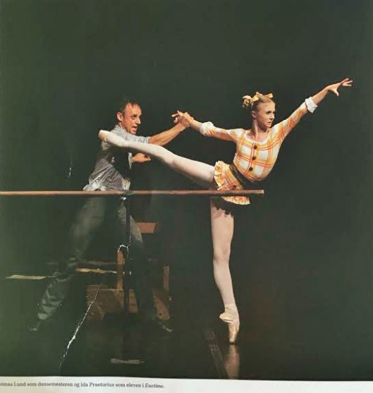"Thomas Lund and Ida Praetorius in ""The Lesson"""