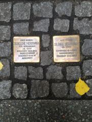 A couple who were both doctors. We found the stones at the entrance of an apartment store