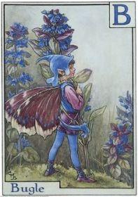 Cicely Mary Barker's Bugle Fairy