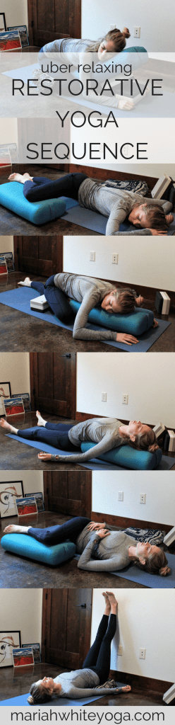 Uber Relaxing Restorative Yoga Sequence