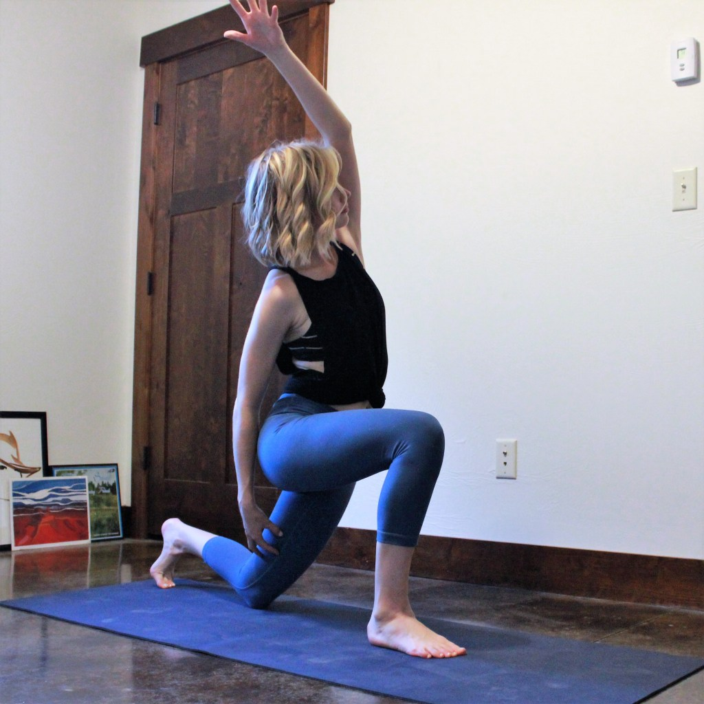 Low Lunge with Side Bend