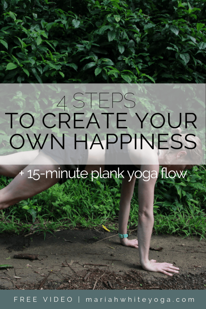 How to Create Your Own Happiness