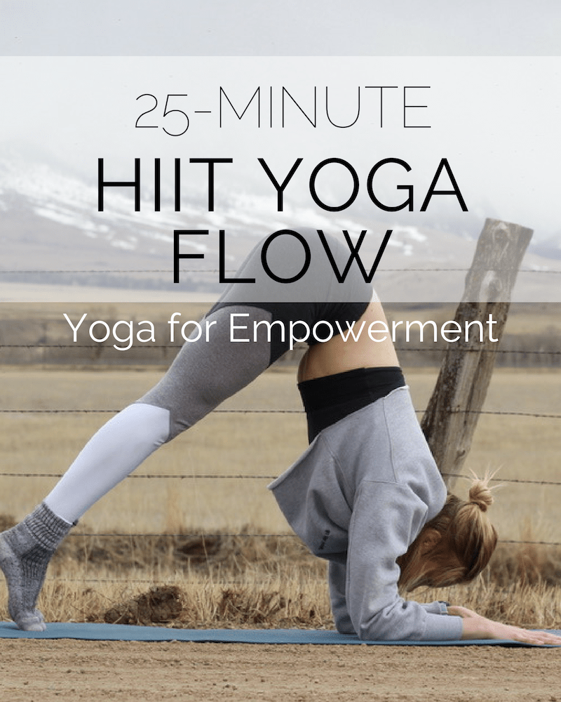 HIIT Yoga Flow