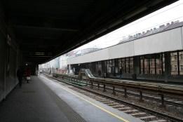 Bahn station near the apartment
