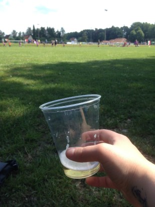 Tournament complete with an Alster - beer+sprite