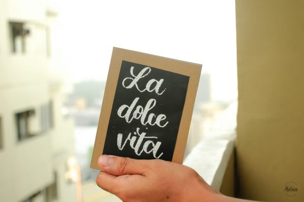 La Dolce Vita - Embossed Notebooks A6