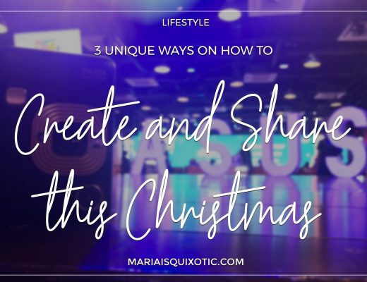 3 Unique Ways on How to Create and Share this Christmas