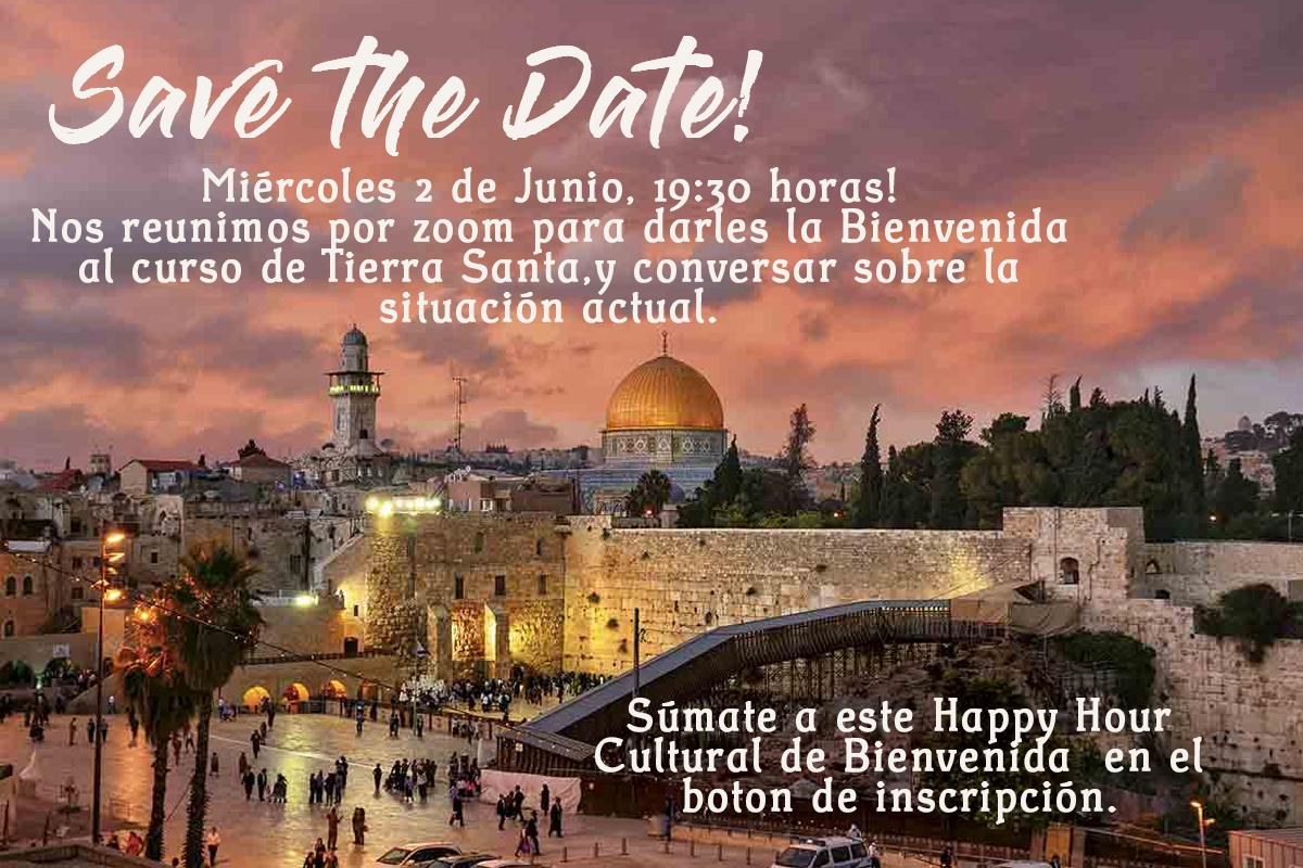 save the date tierra santa