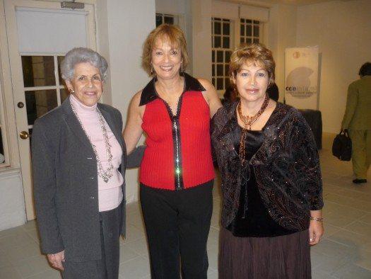 Amelia del castillo, María Juliana y María Luisa Lázzaro