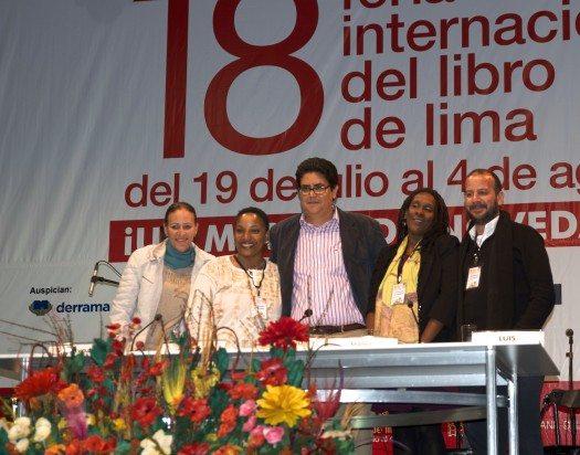 Escritores de PR en Feria del LIbro Lima