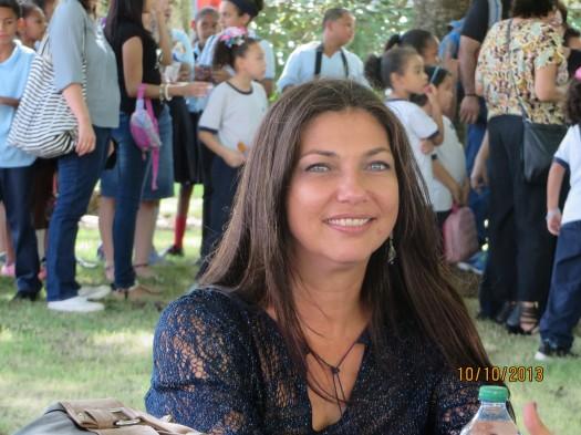 Premio Nuevas Voces, Jeannette Becerra (foto de María Juliana Villafañe)
