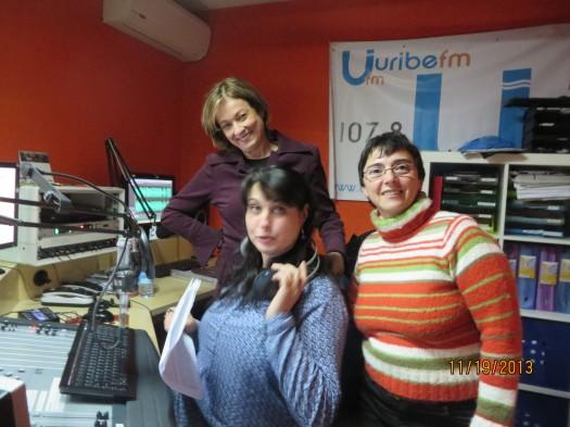 Idoia Mielgo, María José Mielgo y María Juliana Villafañe