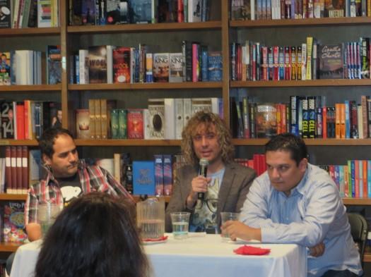 Hernán Vera Álvarez, José Ignacio Valenzuela y Pedro Medina León