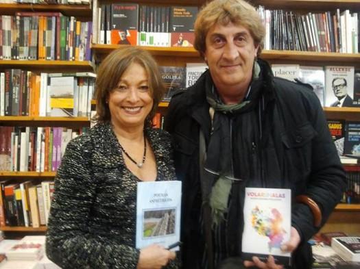 María Juliana Villafañe y el poeta bilbaíno Santiago Liberal
