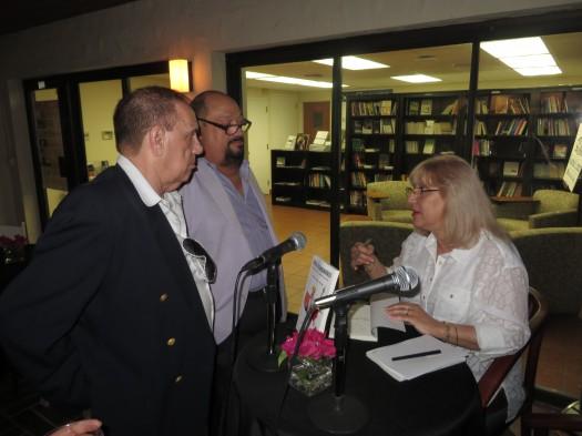 Maricel Mayor Marsán durante la firma de autógrafos.