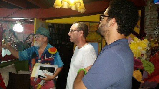 Antonio Martorell conversa sobre su obra con Ricardo Menéndez Salmón y Sergio Gutiérrez.