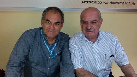 Carlos Cortés y Eugenio Roca.