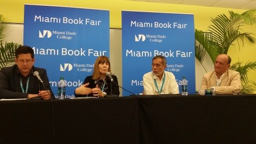 Feria del Libro Miami - Perla Suez y Ramón Iván Suárez Caamal