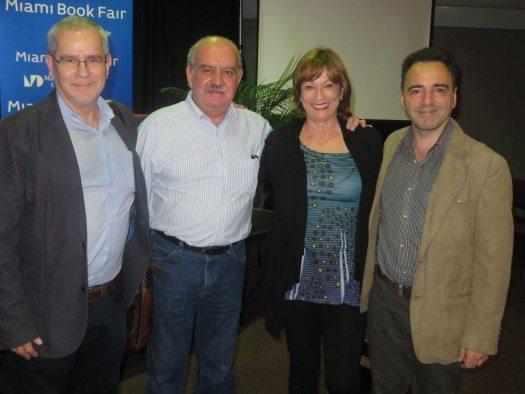 Sergio Andricain, Eugenio Roca, María Juliana Villafañe y Pablo de Santis.