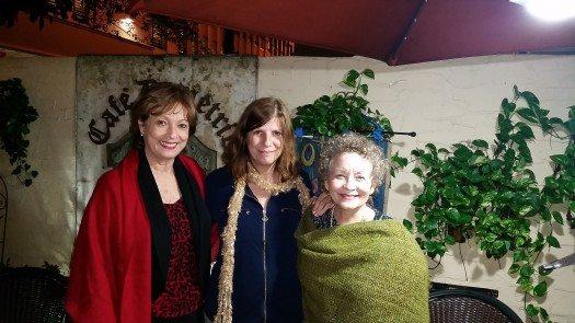 María Juliana Villafañe, Susana Della Latta y Lourdes Vázquez.