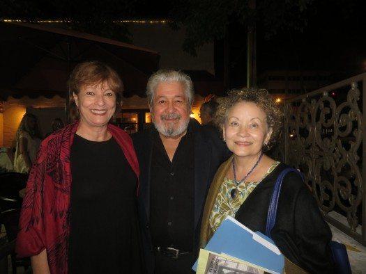 María Juliana Villafañe, Julio Torresoto y Lourdes Vázquez.