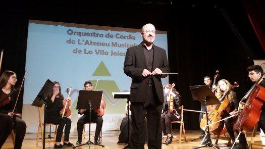 Orquesta de Cuerdas del Ateneu Musical de Villajoyosa.