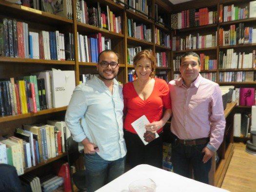 Rubén Varona, María Juliana Villafañe y Carlos Bermeo.