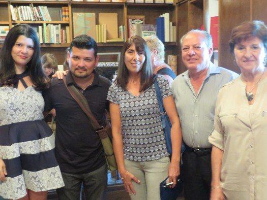 Greity Gonzales, Dago Sasiga, Mónica Prandi, Arnaldo González Berrios e Isabel García Cintas.