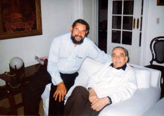José Luis Díaz Granados y su primo Gabriel García Márquez