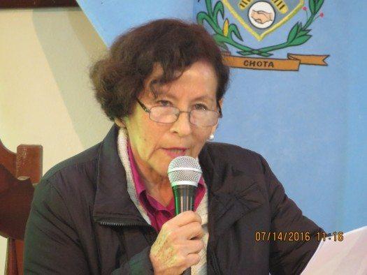 Mary Oscetegui (Perú)