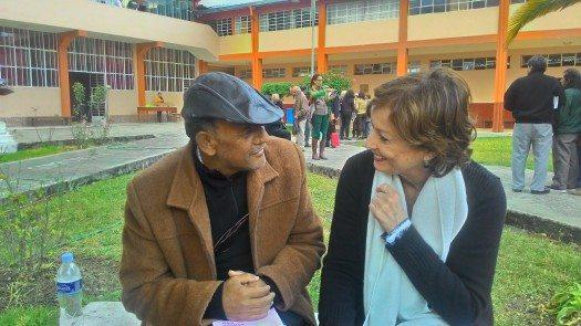 López Coronado y María Juliana Villafañe foto: Oxmar López