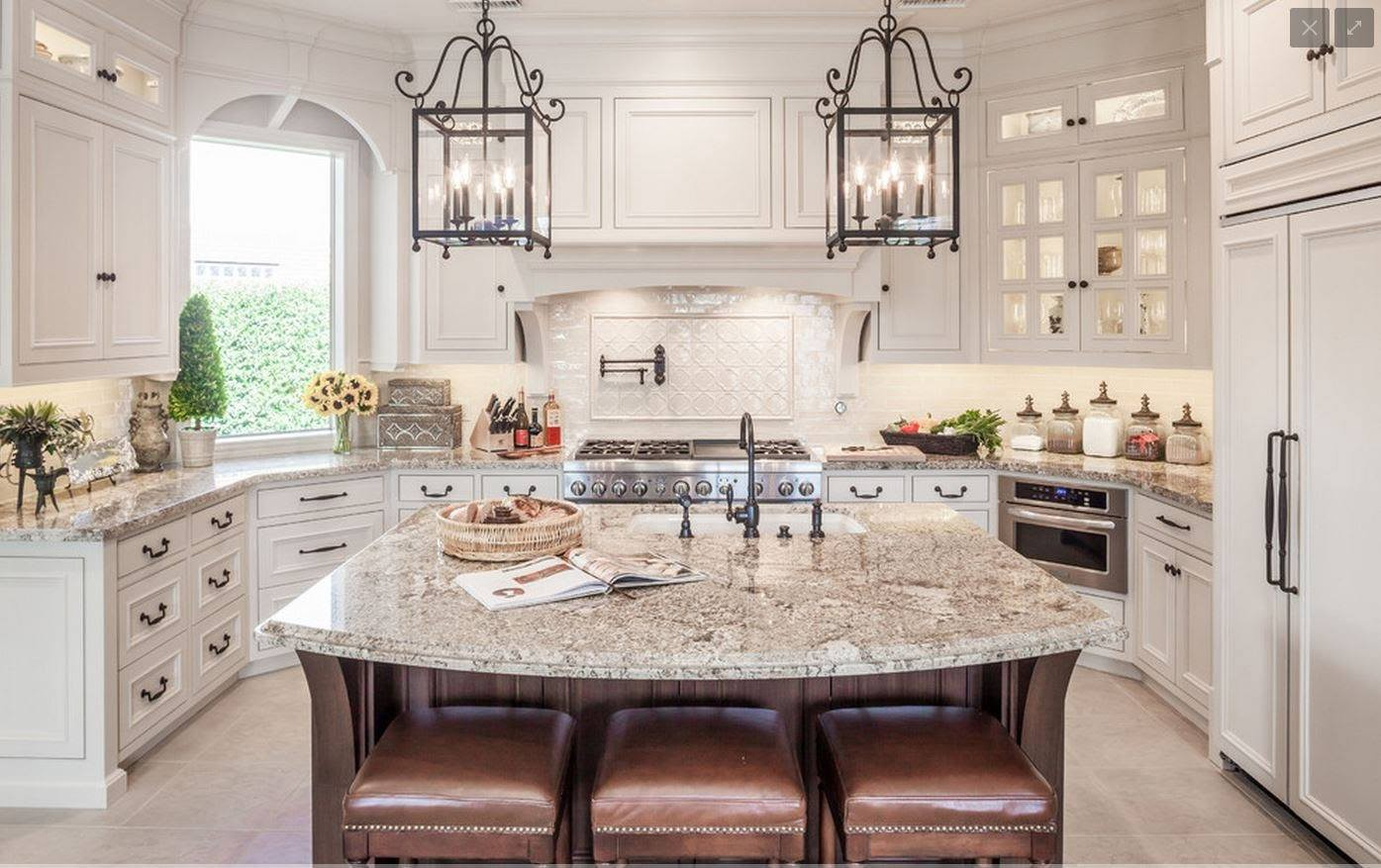 Which Backsplash Tile goes with Granite? - Maria Killam on Backsplash Ideas For White Cabinets And Granite Countertops  id=65059